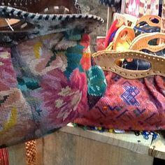 Coming soon to theredsari.com, Huipil handbags!