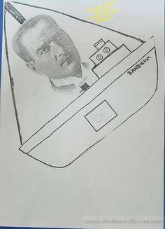 Anaokulu ve okulda 9 Mayısta bir çizim nasıl çizilir