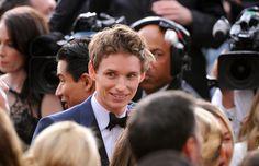 #Oscars2015 Eddie Redmayne