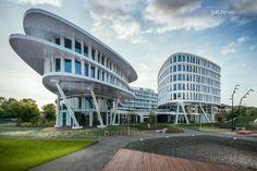 Architecture photography - Business Garden complex, Warsaw - www.galczynski.com / T3 studio