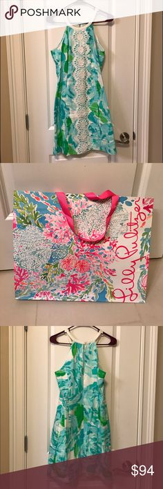 Lilly Pulitzer dress In great condition has been worn once! Lilly Pulitzer Dresses Midi