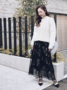 Lace Skirt, Skirts, Outfits, Fashion, Moda, Suits, Fashion Styles, Skirt