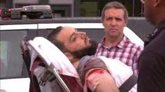 Image copyright                  WABC Image caption                                      El sospechoso fue detenido luego de dispararle a un oficial de policía.                                El sospechoso de estar detrás de la explosión ocurrida el sábado en el barrio de Chelsea, de Nueva York (EE.UU.), fue detenido este lunes luego de disparar a un oficial de policía en Linden, Nueva Jersey, según informó la prensa estadounidense.  C
