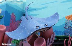 Mr. Ray (Finding Nemo) inspiration