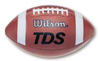 Wilson F1205 Official Football by Wilson. $71.99. Wilson 899 Select Leather. TD/TDS pattern traditionally used by high schools. Patented ACL Lacing System for better grip. Dual sided lace reinforcers. Wilson exclusive grip stripes. 1005 pattern is easier to grip and throw. Lockstitch construction. Official size is NFHS approved