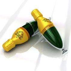 Champagne-to-go! Design by Form Stark