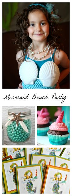 Craft games recipe Craft games recipes easy kid friendly food activities and decorations for a mermaid beach party. Mermaid tutu birthday party costume tutorial too. Craft Party, Diy Party, Party Ideas, Game Ideas, Mermaid Beach, Mermaid Tutu, Beach Party Games, Activities For Girls, Summer Activities