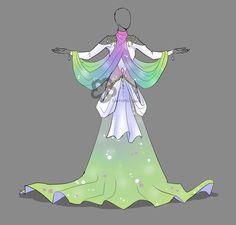 Pastel Dress Adopt - for sale by Nahemii-san on DeviantArt