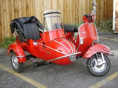 2008 Genuine Stella Scooter with sidecare