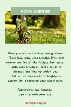 Stopping to energise during the day Breath In Breath Out, Deep Breath, Mind Gym, Breathe, Muscle, Mindfulness, Let It Be, Feelings, Muscles