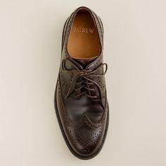Preston wing tips - shoes - Men's men's suit shop - J.Crew