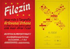 Tipografia Artesanal Urbana on Behance