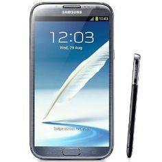 Samsung Galaxy Note II N7100 Mobile Phone - Grey