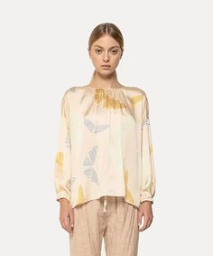 Official website of Alix of Bohemia. We create unique fashion items for the modern bohemian. Founded in London and New York by Alix Verley-Pietrafesa. Shoe Size Conversion, Modern Bohemian, Silk Satin, Silk Top, Unique Fashion, Fashion Forward, Print Design, Blouse, Tunic Tops