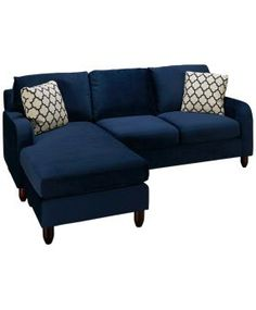 Max Home-Sorrento-Max Home Sorrento 2 Piece Sofa with Chaise Ottoman - Jordan's Furniture