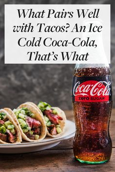 Complement your meal with an ice-cold Coca-Cola. A little refreshment is exactly what you need to enhance the salty and savory flavors of those tacos. Copycat Recipes, Keto Recipes, Cooking Recipes, Healthy Dessert Recipes, Brunch Recipes, Under 100 Calories, Thai Street Food, Easy Meal Prep, How To Make Salad