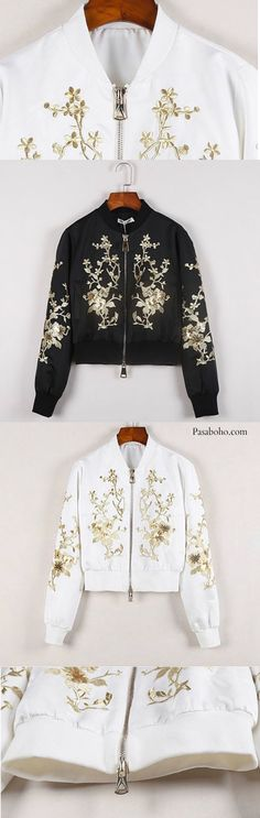 Classic Embroidery Jacket is Available at Pasaboho - $78 ( Free Shipping Worldwide )