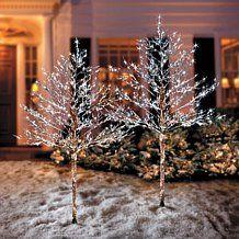 Improvements White LED Christmas Tree - 5'