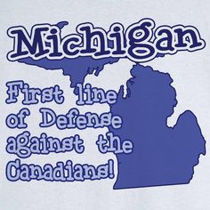 Funny State Pride Michigan Novelty T Shirt - Rogue Attire
