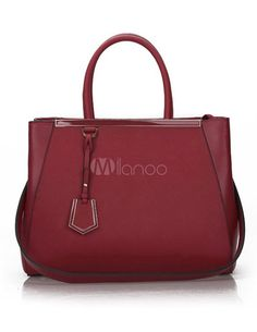 Sacola vintage em forma de travesseiro do couro femininas - Milanoo.com