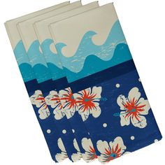 Found it at Wayfair - Golden Beach Floral Napkin