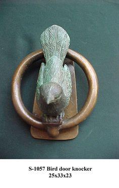 bird door knocker