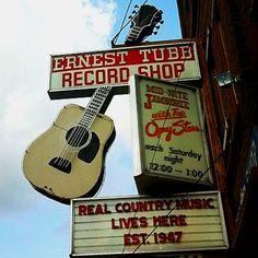 Ernest Tubb sign, Nashville, TN
