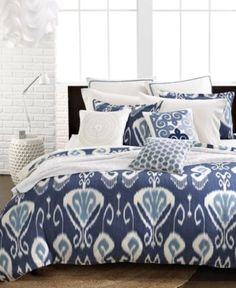 Echo Bedding, Bansuri King Comforter Set - Bedding Collections - Bed & Bath - Macy's