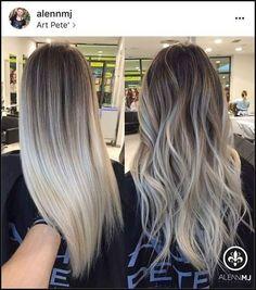 The Warm to Cool Blonde Hair Color Hacks Every Colorist Should ...   Einfache Frisuren