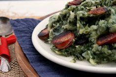 Boerenkool Stamppot (Kale Mash Pot) {European Culinary ABC's}