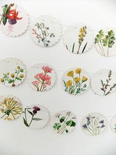 Diy Clay, Clay Crafts, Paper Crafts, Bunting, Craft Gifts, Diy Gifts, Slab Pottery, Pottery Clay, Clay Ornaments