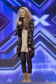 Janet Devlin on X Factor UK - absolutely adorable