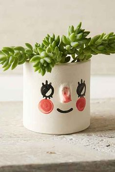 House Remodeling Is Residence Improvement Tuesday Bassen Handmade Ceramic Planter - Urban Outfitters Cerámica Ideas, Cute Valentines Day Gifts, Ceramic Planters, Ceramic Bowls, Ceramic Art, Plants Are Friends, Cactus, Painted Pots, Air Dry Clay