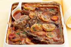 Whether you cook it in a slow cooker or in the oven, this Irish stew is hearty and delicious!