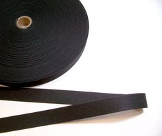 Black Elastic Band 1 1/8 inches wide x 3 yards by GriffithGardens on Etsy