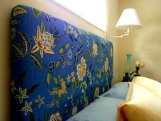 How to Make a Padded Headboard to Stage Your Bedroom by DIY Home Staging Tips