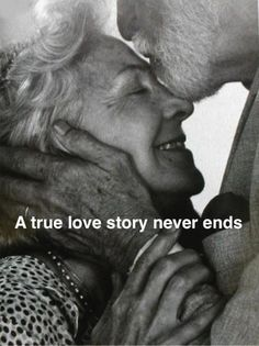 I look forward to growing old together!!