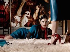 Kim Peers & Querelle Jansen by Craig McDean for Interview Magazine May 2014