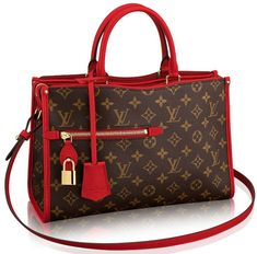Remember this bag? The Popincourt Bag? It's back and has been modernized with a new trendy attitude. For those that are not familiar with Louis Vuitton classic handbags, the Popincourt was introduc… Fall Handbags, Gucci Handbags, Louis Vuitton Handbags, Fashion Handbags, Purses And Handbags, Fashion Bags, Louis Vuitton Monogram, Leather Handbags, Designer Handbags