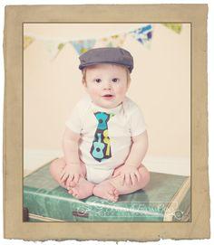 cute little man onesie