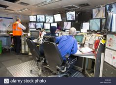 Image result for TFl control room