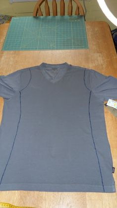 One Delicious Love Story: T-shirt Refashion Tutorial