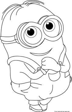 printable the minions dave coloring page for kids.free online print out the mini. - printable the minions dave coloring page for kids.free online print out the minions dave coloring p - Minion Coloring Pages, Cute Coloring Pages, Disney Coloring Pages, Coloring Pages To Print, Free Printable Coloring Pages, Free Coloring, Adult Coloring Pages, Coloring Pages For Kids, Coloring Sheets