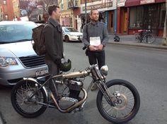 #Motorcycle #Custom #Minimalist
