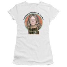"""Checkout our #LicensedGear products FREE SHIPPING + 10% OFF Coupon Code """"Official"""" Bionic Woman / Under My Skin - Short Sleeve Junior Sheer - Bionic Woman / Under My Skin - Short Sleeve Junior Sheer - Price: $34.99. Buy now at https://officiallylicensedgear.com/bionic-woman-under-my-skin-short-sleeve-junior-sheer"""