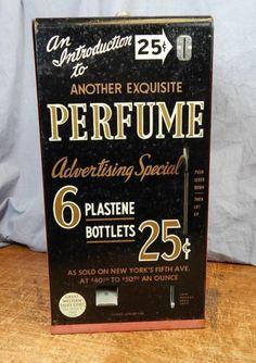 Vintage Perfume Vending Machine Great Western Sales | eBay