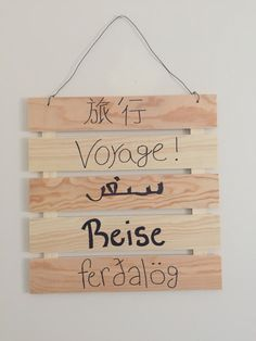 Different languages for travel!