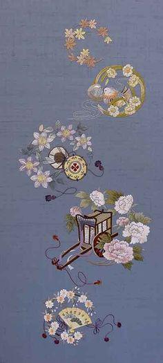 『日本刺繍教室作品』