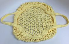 Introducing a crochet large market bag that has an interesting shape and lots of great advantages. The tutorial will help you with this crochet stitch. Bag Crochet, Crochet Crowd, Crochet Market Bag, Crochet Yarn, Joining Yarn Crochet, Crochet Diagram, Crochet Patterns, String Bag, Reusable Bags
