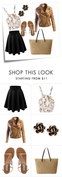 """casual"" by banu94 ❤ liked on Polyvore featuring Post-It, Sans Souci and Chantecler"